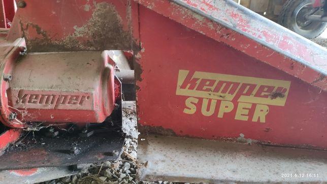 Sieczkarnia do kukurydzy KEMPER Super - jednorzędowa