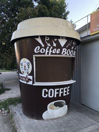 Киоск кофейный стакан