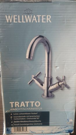 Смеситель для   умывальника, ванной TRATTO