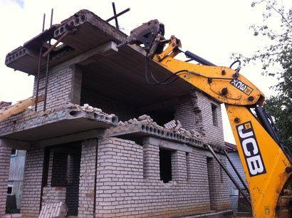 Демонтаж домов, зданий, помещений. Вывоз мусора.Планировка участка.