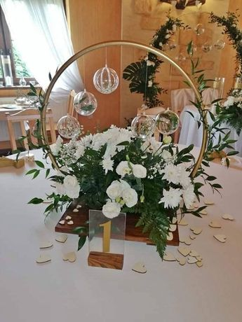 Dekoracja sal weselnych, dekoracja kościoła, dekoracje ślubne