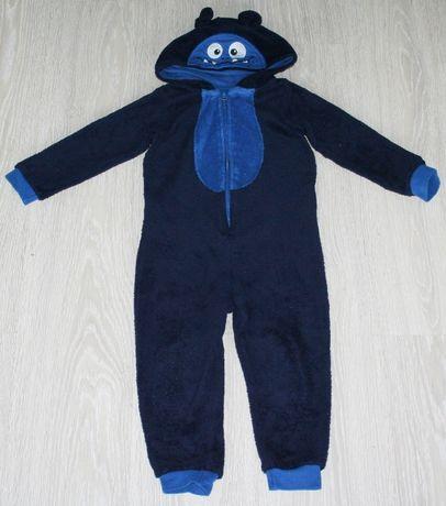 Kombinezon 98 104 pajacyk piżama kostium przebranie strój potworek!