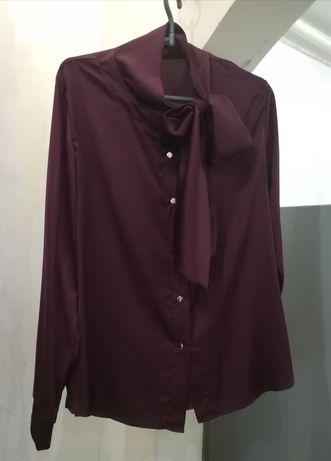 Атласная блуза, футболка