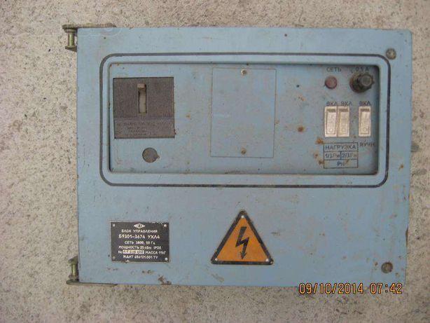 блок управления водонагревателем