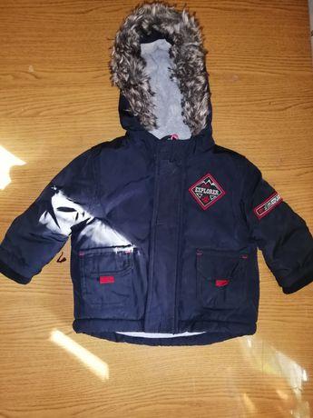 Курточка осенняя на мальчика 3-6м