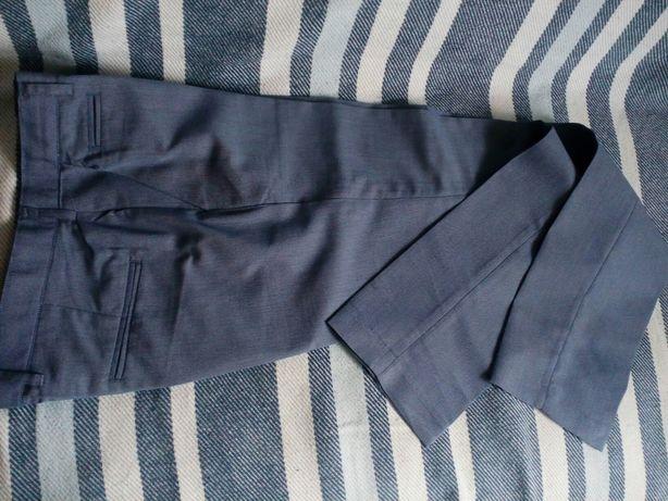 Spodnie chłopięce do kantu, granatowe BARDZO DOBRY STAN 164cm