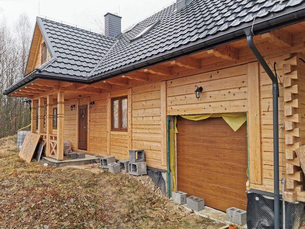 Brama garażowa segmentowa Wiśniowski z wyskim prowadzeniem
