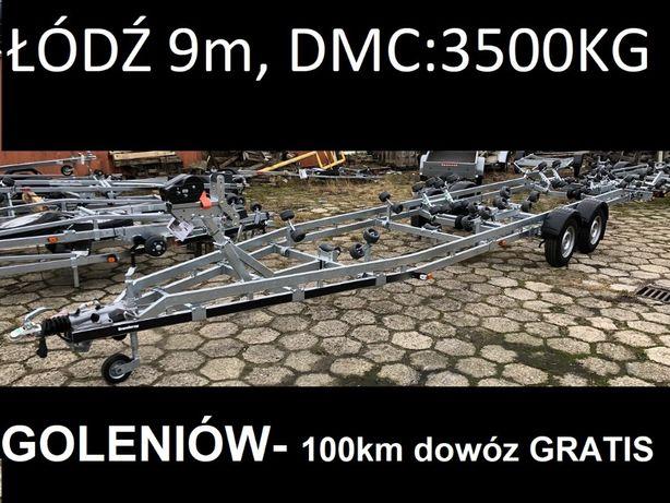 Brenderup 303500B SRX do 9m przyczepa podłodziowa 3500kg DOSTAWA GRATI