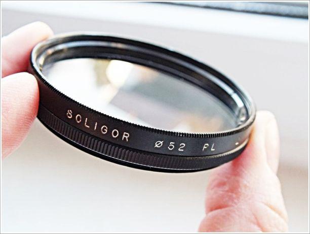 Filtr polaryzacyjny Soligor PL 52mm Ideał!