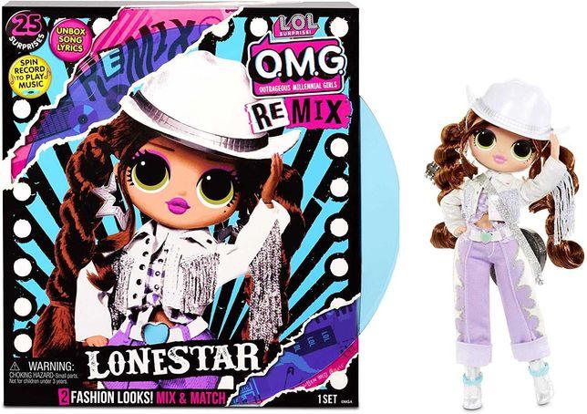 L.O.L. Surprise O.M.G. Remix Lonestar Doll ЛОЛ с музыкой Леди Кантри