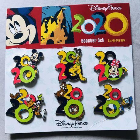 Значки Disney. Дисней. Mickey Mouse. Металлические значки. Пин, брошка