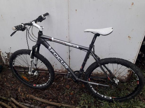 горний велосипед omega з гідравлічними гальмами