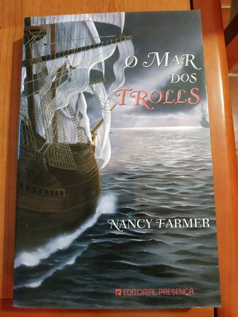 Vendo O mar dos trolls - Nancy Farmer