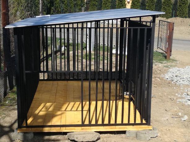 KOJCE boksy dla psów, solidna konstrukcje 2x2m