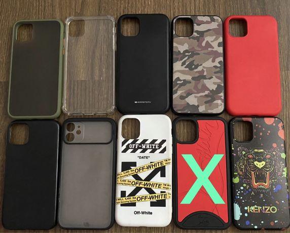 Conjunto de capas iphone 11