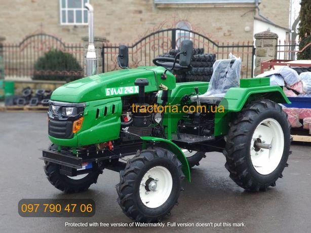 Трактор Булат Т-245 XL+ФРЕЗА 140 см+ВОМ+Кардан.Мототрактор мінітрактор
