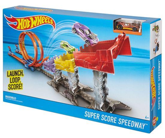 Hot Wheels Трек Хот Вилс Рекордный прыжок Hot Wheels Super Score Speed