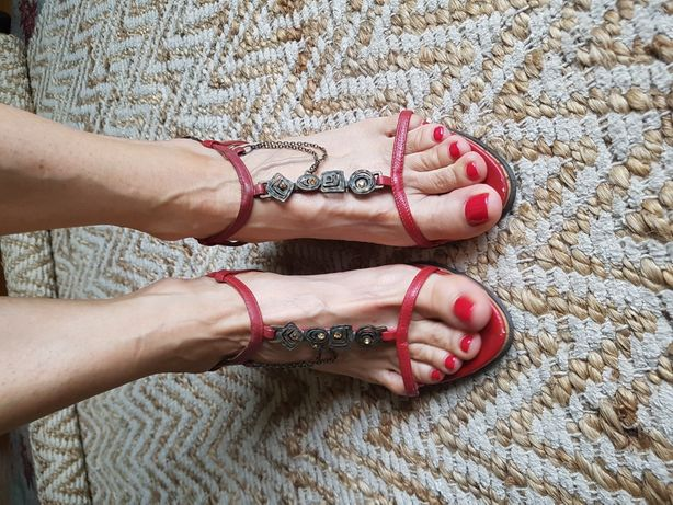 Sandały koturny Reserved rozmiar 38 dł wkładki 24,5 cm