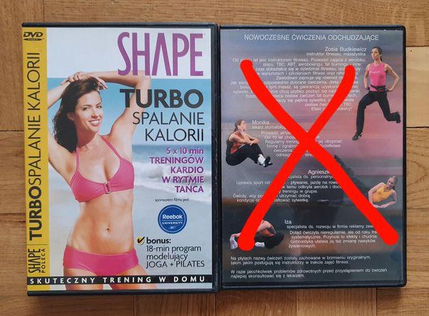 Treningi spalające kalorie na DVD
