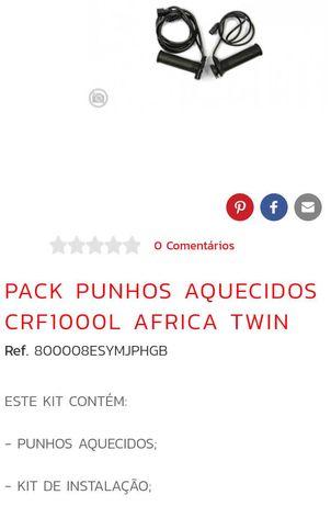 Honda África twin crf 1000 punhos aquecidos originais
