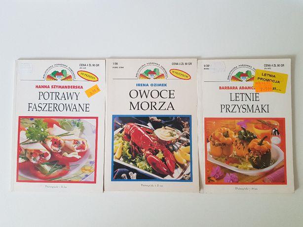 Książki kucharskie Prószyński i S-ka