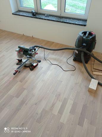 Монтаж паркета та ламінату паркетна дошка сходи на бетон та метал.карк