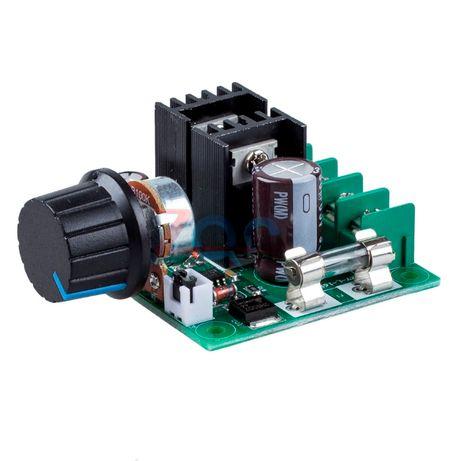 Controlador de Velocidade PWM para Motor DC de Automóvel de 12V - 40V