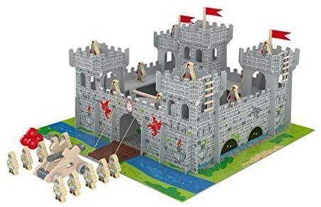 Fort zamek drewniany dla dziecka