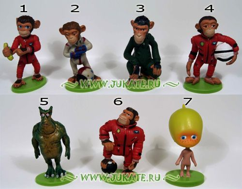 Ландрин Из серии Космические Мартышки / Space Chimps, 2008 г.