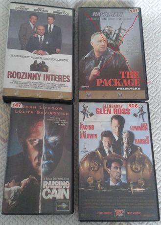 Filmy na VHS - kasety video (polska dystrybucja, lektor)