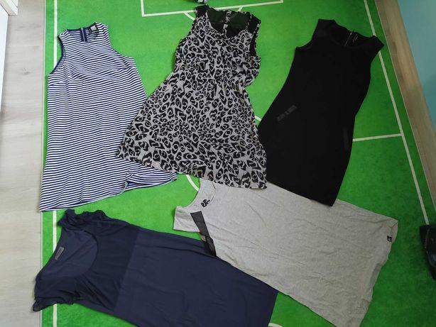 Sukienki krótkie rozmiar M 5 szt