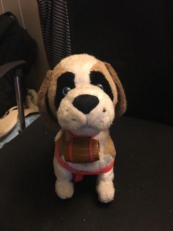 Zabawka Pies Bernardyn na Baterie