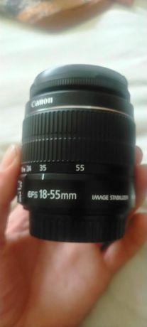 Objetiva Canon 18-55mm Com estabelizador