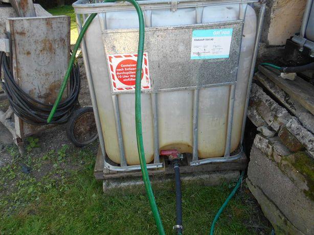 Zbiornik na wodę 1000 l