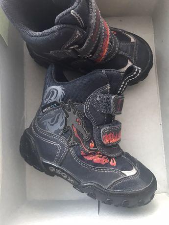 Зммові чобітки Geox