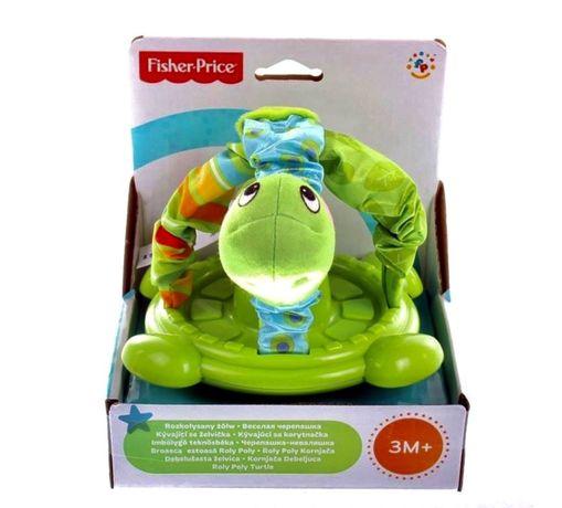 Rozkołysany żółw Fisher Price zabawka sensoryczna