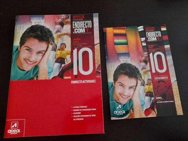 Caderno de atividades espanhol iniciação 10°ano