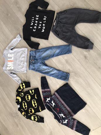 Ubranka dla chłopca H&M rozm. 92-98