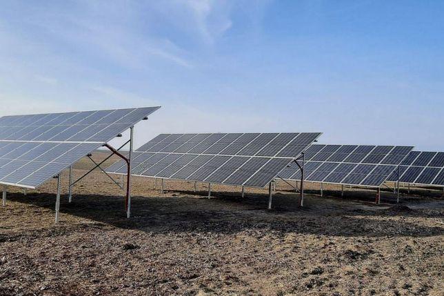 Сонячна станція СЭС 40 кВт + оцинкований каркас + 10років гарантії