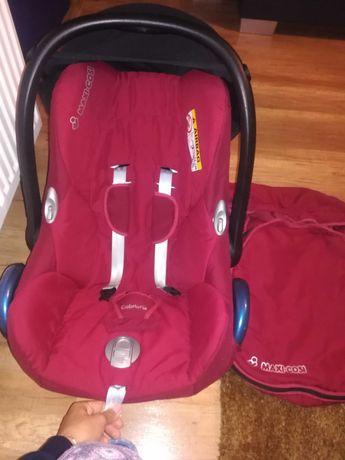 Maxi cosi 0-13kg +gratis śpiworek super fotelik nosidełko bujaczek