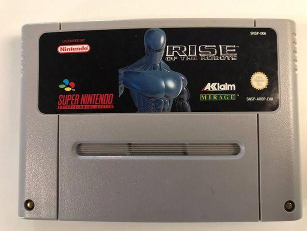 Gra Rise of the Robots Super Nintendo SNES PAL