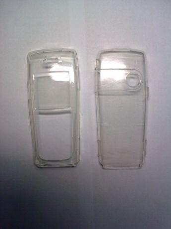 Чехол Nokia 6230 прозрачный (защита для корпуса от потертостей)