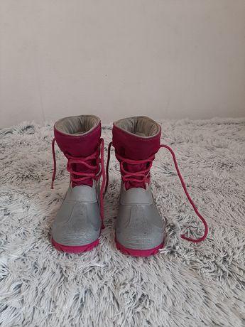 Buty śniegowce dziecięce