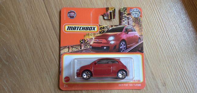 Matchbox Hot Wheels Fiat 500