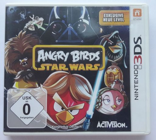 Angry Birds Star Wars gra Nintendo 3DS 2DS