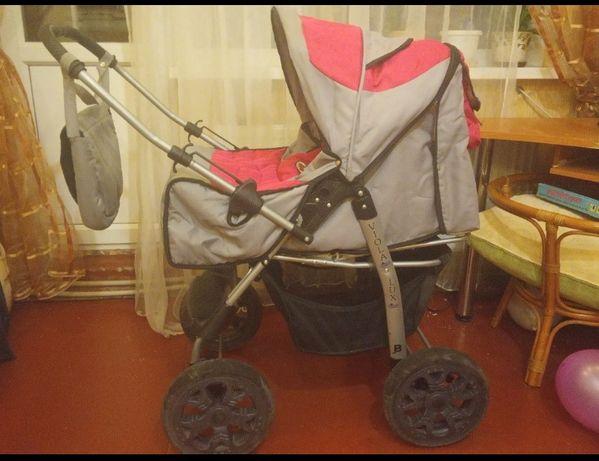 Продам коляску трансформер 2 в 1 Teddy