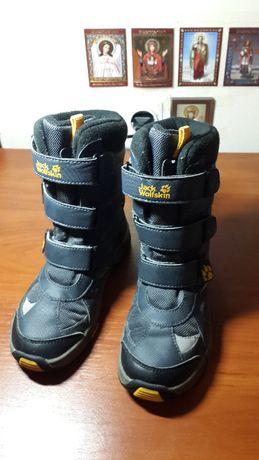 Продам детские зимние ботинки Jack Wolfskin 32 размера