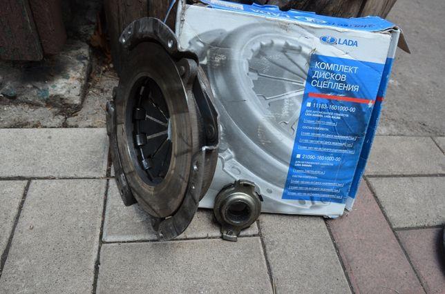 Корзина ВАЗ Калина (диск сцепления нажимной) + выжимной подшипник
