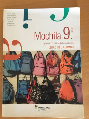 "Livro: ""Mochila 9o ano"""