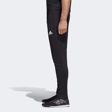 Штаны спортивные adidas climacool черные лампасы